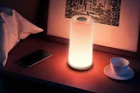 Регулировка прибора, включающего освещение